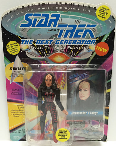 (TAS033542) - 1993 Playmates Star Trek The Next Generation Ambassador K'Ehleyr, , Action Figure, Star Trek, The Angry Spider Vintage Toys & Collectibles Store  - 1