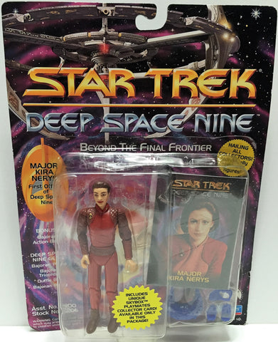 (TAS033543) - 1993 Playmates Star Trek Deep Space Nine Figure Major Kira Nerys, , Action Figure, Star Trek, The Angry Spider Vintage Toys & Collectibles Store  - 1