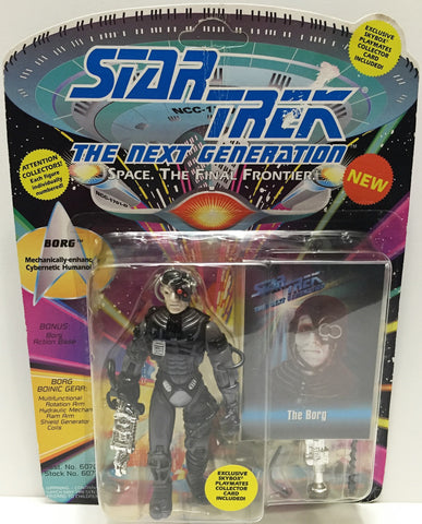 (TAS033546) - 1992 Playmates Star Trek The Next Generation Action Figure Borg, , Action Figure, Star Trek, The Angry Spider Vintage Toys & Collectibles Store  - 1