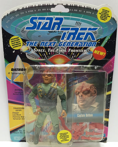 (TAS033547) - 1993 Playmates Star Trek The Next Generation Figure Dathon, , Action Figure, Star Trek, The Angry Spider Vintage Toys & Collectibles Store  - 1