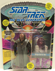 (TAS033548) - 1993 Playmates Star Trek The Next Generation Klingon Warrior Wof, , Action Figure, Star Trek, The Angry Spider Vintage Toys & Collectibles Store  - 1