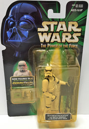 (TAS033588) - 1999 Hasbro Star Wars The Power of the Force Figure - Stormtrooper, , Action Figure, Star Wars, The Angry Spider Vintage Toys & Collectibles Store  - 1