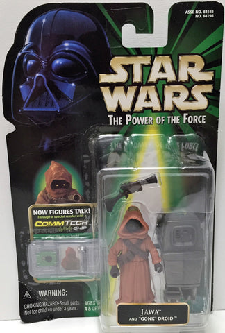 (TAS033589) - 1999 Hasbro Star Wars The Power of the Force Figure - Jawa, , Action Figure, Star Wars, The Angry Spider Vintage Toys & Collectibles Store  - 1