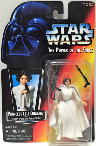 (TAS033590) - 1995 Hasbro Star Wars The Power of the Force Figure Princess Leia, , Action Figure, Star Wars, The Angry Spider Vintage Toys & Collectibles Store  - 1