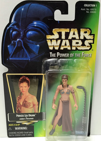(TAS033591) - 1997 Hasbro Star Wars The Power of the Force Figure Princess Leia, , Action Figure, Star Wars, The Angry Spider Vintage Toys & Collectibles Store  - 1