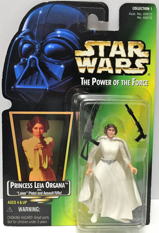 (TAS033592) - 1997 Hasbro Star Wars The Power of the Force Figure Princess Leia, , Action Figure, Star Wars, The Angry Spider Vintage Toys & Collectibles Store  - 1