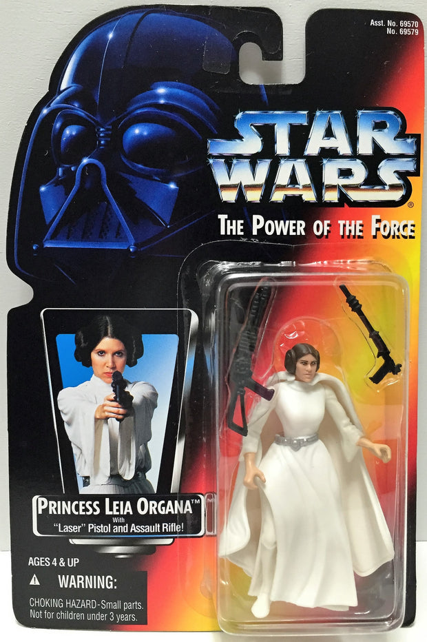 (TAS033594) - 1995 Hasbro Star Wars The Power of the Force - Princess Leia, , Action Figure, Star Wars, The Angry Spider Vintage Toys & Collectibles Store  - 1