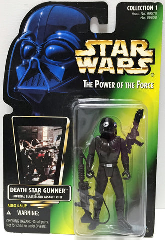 (TAS033595) - 1996 Hasbro Star Wars The Power of the Force Death Star Gunner, , Action Figure, Star Wars, The Angry Spider Vintage Toys & Collectibles Store  - 1