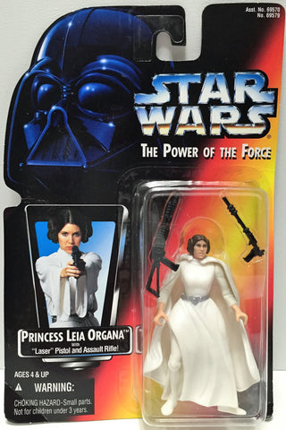 (TAS033599) - 1995 Hasbro Star Wars The Power of the Force - Princess Leia, , Action Figure, Star Wars, The Angry Spider Vintage Toys & Collectibles Store  - 1