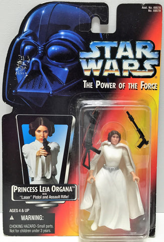(TAS033606) - 1995 Hasbro Star Wars The Power of the Force - Princess Leia, , Action Figure, Star Wars, The Angry Spider Vintage Toys & Collectibles Store  - 1