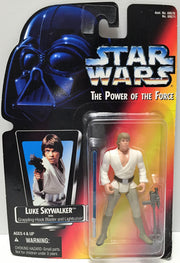 (TAS033608) - 1995 Hasbro Star Wars The Power of the Force - Luke Skywalker, , Action Figure, Star Wars, The Angry Spider Vintage Toys & Collectibles Store  - 1