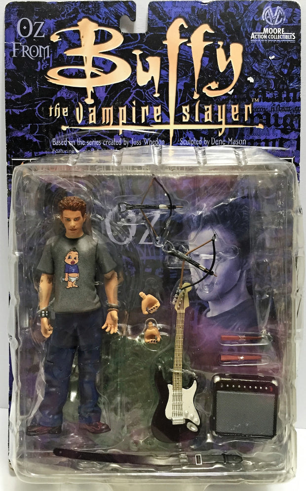 (TAS033614) - 2000 Moore Action Buffy The Vampire Slayer Action Figure - OZ, , Action Figure, Moore Action, The Angry Spider Vintage Toys & Collectibles Store  - 1