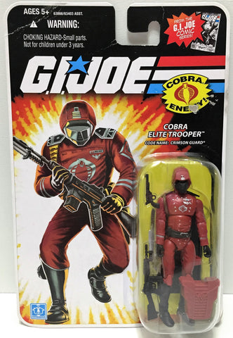 "(TAS033620) - 2008 Hasbro G.I. Joe Figure ""Cobra Enemy"" - Cobra Elite Trooper, , Action Figure, G.I. Joe, The Angry Spider Vintage Toys & Collectibles Store  - 1"