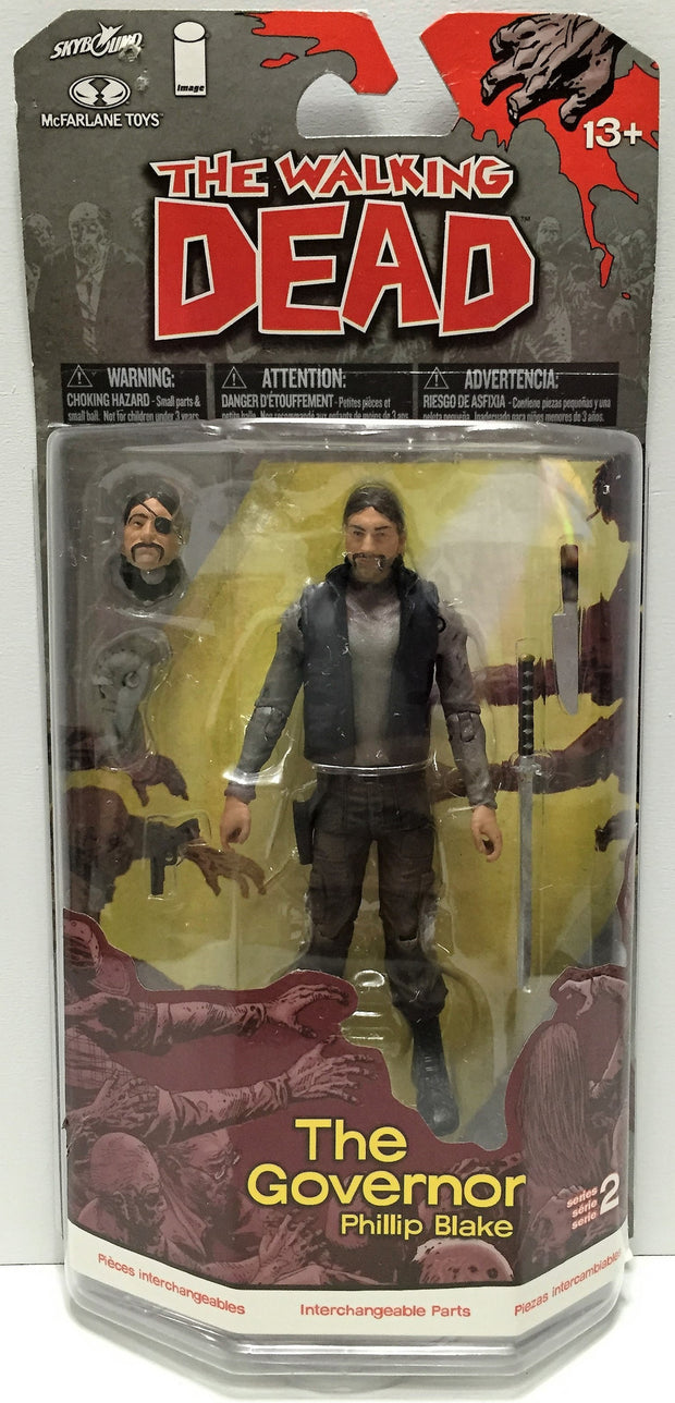 (TAS033621) - 2013 TMP International The Walking Dead - Governer Phillip Blake, , Action Figure, TMP International, The Angry Spider Vintage Toys & Collectibles Store  - 1