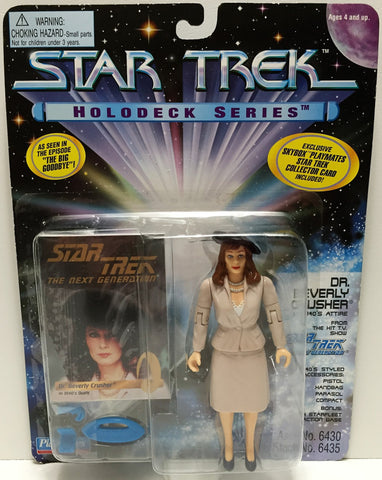 (TAS033623) - 1995 Playmates Star Trek The Next Generation Dr. Beverly Crusher, , Action Figure, Star Trek, The Angry Spider Vintage Toys & Collectibles Store  - 1