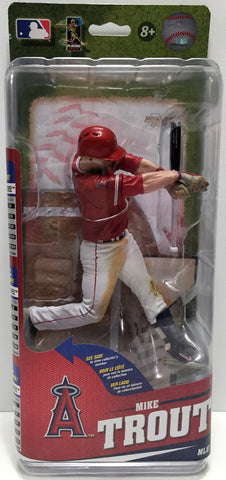 (TAS033624) - 2015 McFarlane Toys MLB Angels Baseball Figure - Mike Trout, , Action Figure, MLB, The Angry Spider Vintage Toys & Collectibles Store  - 1