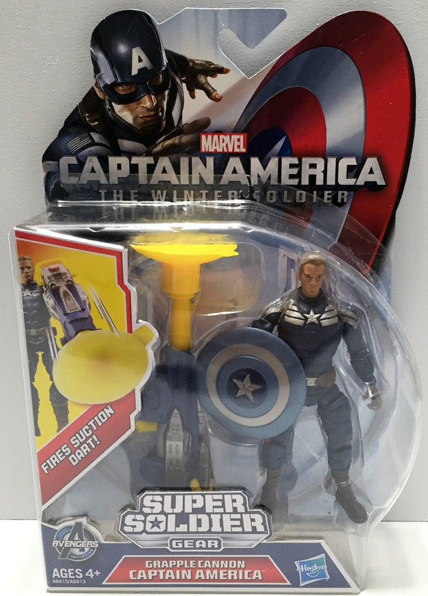 (TAS033633) - 2013 Marvel Captain America - Grapple Cannon Captain America, , Action Figure, Marvel, The Angry Spider Vintage Toys & Collectibles Store  - 1