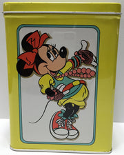 (TAS033641) - Tin Box Company Walt Disney Tall Tin Container - Minnie Mouse, , Other, Disney, The Angry Spider Vintage Toys & Collectibles Store  - 2