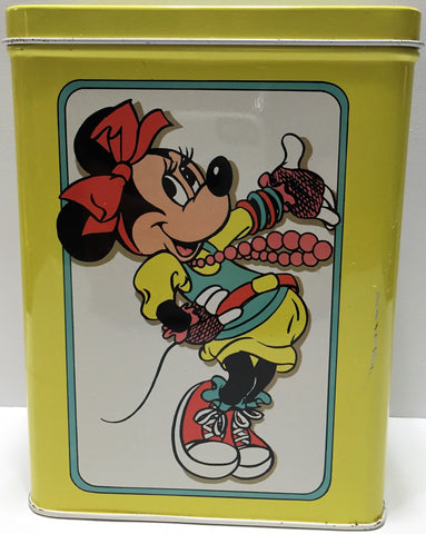 (TAS033641) - Tin Box Company Walt Disney Tall Tin Container - Minnie Mouse, , Other, Disney, The Angry Spider Vintage Toys & Collectibles Store  - 1