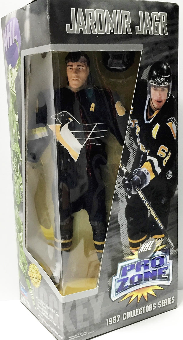 (TAS033657) - 1997 Playmates NHL Hockey Series Edition Figure - Jaromir Jagr, , Action Figure, Playmates, The Angry Spider Vintage Toys & Collectibles Store  - 1