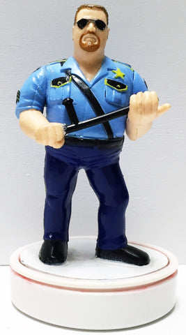 (TAS033660) - 1991 Titan Sports WWE WWF Wrestling Ink Stamper Big Boss Man, , Stamper, Wrestling, The Angry Spider Vintage Toys & Collectibles Store  - 1