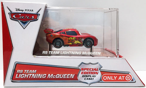 (TAS033661) - 2014 Mattel Disney Pixar Cars Racing RS Team Lightning McQueen Car, , Trucks & Cars, Disney, The Angry Spider Vintage Toys & Collectibles Store  - 1