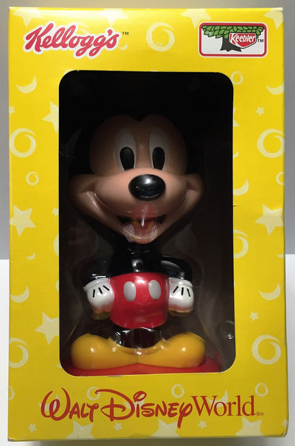 (TAS033662) - 2002 Kellogg's Keebler Walt Disney World Bobble Head Mickey Mouse, , Bobblehead, Disney, The Angry Spider Vintage Toys & Collectibles Store  - 1