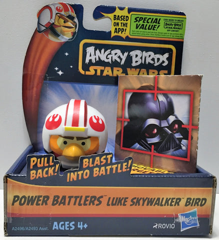 (TAS033668) - 2013 Rovio Angry Birds Star Wars Power Battlers - Luke Skywalker, , Action Figure, Star Wars, The Angry Spider Vintage Toys & Collectibles Store  - 1