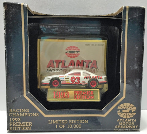 (TAS033669) - 1993 Racing Champions Atlanta Motor Speedway Die-Cast #93, , Trucks & Cars, Racing Champions, The Angry Spider Vintage Toys & Collectibles Store  - 1