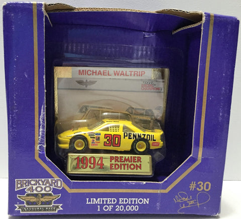 (TAS033671) - 1994 Racing Champions Brickyard 400 Die-Cast Car - Michael Waltrip, , Trucks & Cars, Racing Champions, The Angry Spider Vintage Toys & Collectibles Store  - 1