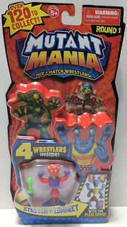 (TAS033674) - 2013 Moose Toys Mutant Mania Mix & Match Wrestlers - Round 1, , Toys, Wrestling, The Angry Spider Vintage Toys & Collectibles Store  - 1
