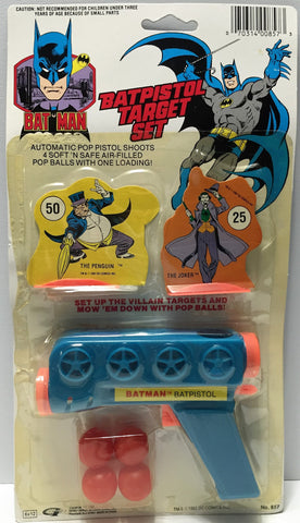 (TAS033683) - 1988 DC Comics Bat-Man Collectible Batpistol Target Set Toy Pack, , Toys, Batman, The Angry Spider Vintage Toys & Collectibles Store  - 1