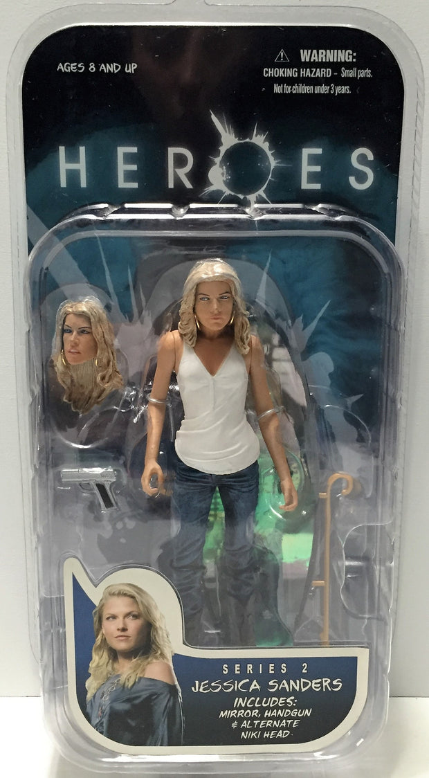 (TAS033687) - 2008 Mezco Toys Heroes Series 2 Collectible Figure Jessica Sanders, , Action Figure, Mezco, The Angry Spider Vintage Toys & Collectibles Store  - 1