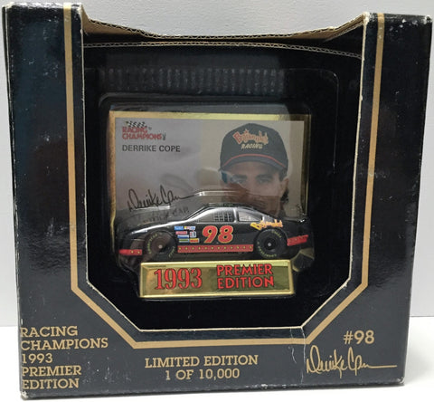 (TAS033688) - 1993 Racing Champions Premier Edition Car - Derrike Cope, , Trucks & Cars, NASCAR, The Angry Spider Vintage Toys & Collectibles Store  - 1