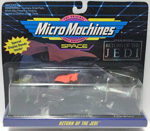 (TAS033692) - 1993 Galoob Micro Machines Star Wars Return of the Jedi, , Action Figure, Star Wars, The Angry Spider Vintage Toys & Collectibles Store  - 1