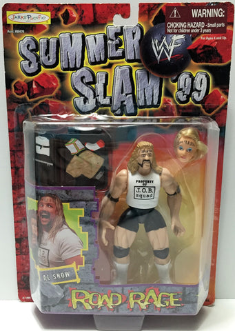 (TAS033694) - 1999 Jakks WWF Wrestling Summer Slam '99 Figure - Al Snow, , Action Figure, Wrestling, The Angry Spider Vintage Toys & Collectibles Store  - 1