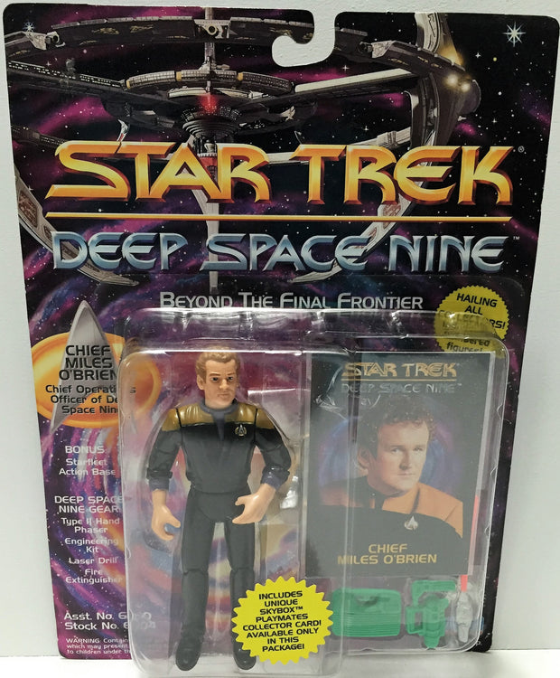 (TAS033707) - 1993 Playmates Star Trek Deep Space Nine - Chief Milles O'Brien, , Action Figure, Star Trek, The Angry Spider Vintage Toys & Collectibles Store  - 1