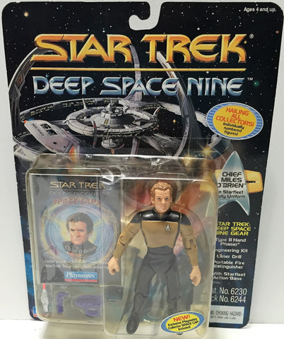 (TAS033708) - 1994 Playmates Star Trek Deep Space Nine - Chief Milles O'Brien, , Action Figure, Star Trek, The Angry Spider Vintage Toys & Collectibles Store  - 1