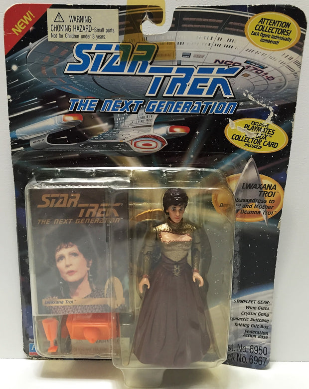 (TAS033719) - 1994 Playmates Star Trek The Next Generation Figure - Lwaxana Troi, , Action Figure, Star Trek, The Angry Spider Vintage Toys & Collectibles Store  - 1