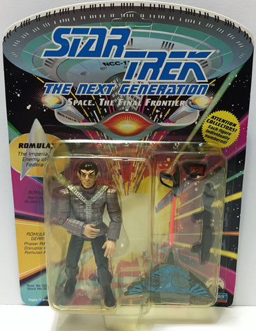 (TAS033720) - 1992 Playmates Star Trek The Next Generation Figure - Romulan, , Action Figure, Star Trek, The Angry Spider Vintage Toys & Collectibles Store  - 1
