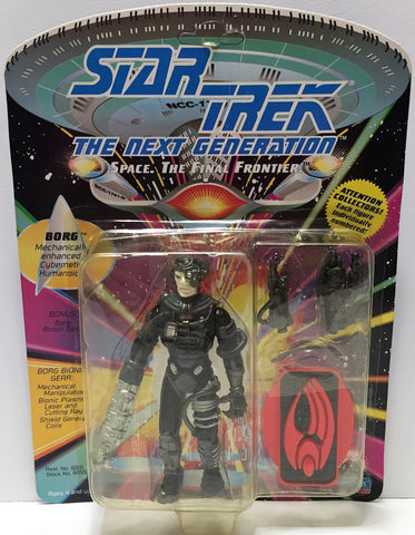 (TAS033721) - 1992 Playmates Star Trek The Next Generation Action Figure - Borg, , Action Figure, Star Trek, The Angry Spider Vintage Toys & Collectibles Store  - 1