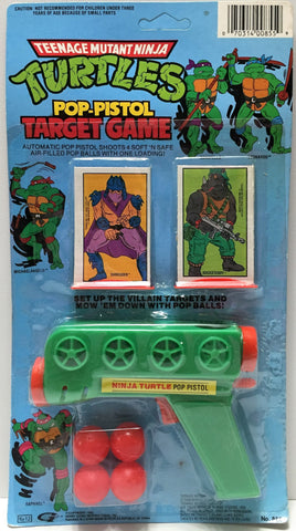 (TAS033726) - 1988 Mirage Teenage Mutant Ninja Turtles Pop-Pistol Target Game, , Game, TMNT, The Angry Spider Vintage Toys & Collectibles Store  - 1