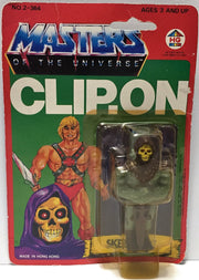(TAS033728) - 1984 Mattel Masters of the Universe Collectible Clip-On - Skeletor, , Other, Mattel, The Angry Spider Vintage Toys & Collectibles Store  - 1
