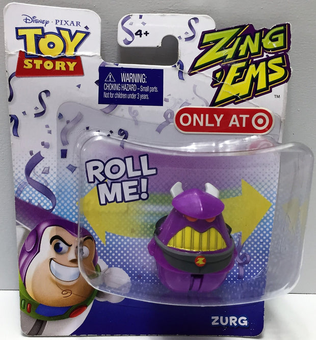 (TAS033735) - 2012 Mattel Disney Pixar Toy Story Zing 'Ems Figure - Zurg, , Action Figure, Disney, The Angry Spider Vintage Toys & Collectibles Store  - 1