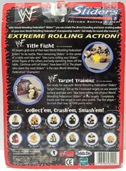 "(TAS033738) - 1999 Hasbro WWF Wrestling Sliders ""Extreme Rolling Action"" 3 Pack, , Action Figure, Wrestling, The Angry Spider Vintage Toys & Collectibles Store  - 2"