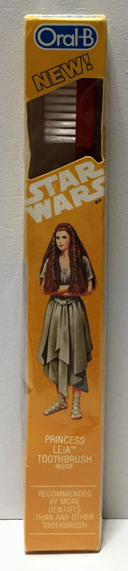(TAS033739) - 1983 Lucasfilm Oral-B Star Wars Toothbrush - Princess Leia, , Bath, Star Wars, The Angry Spider Vintage Toys & Collectibles Store  - 1