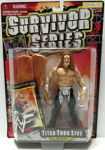 (TAS033741) - 1999 Jakks Pacific WWF Wrestling Survivor Series Figure - HHH, , Action Figure, Wrestling, The Angry Spider Vintage Toys & Collectibles Store  - 1