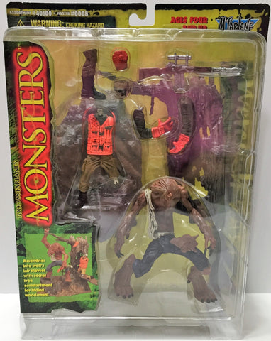(TAS033747) - 1997 McFarlane Toys Monsters Series One Werewolf Playset, , Action Figure, McFarlane Toys, The Angry Spider Vintage Toys & Collectibles Store  - 1