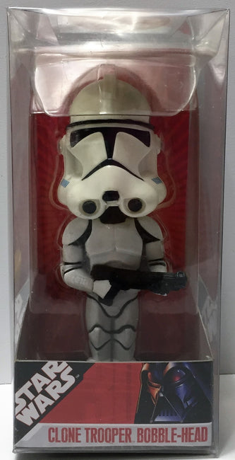 (TAS033759) - 2007 Funko Star Wars Wacky Wobbler - Clone Trooper Bobble Head, , Bobblehead, Star Wars, The Angry Spider Vintage Toys & Collectibles Store  - 1