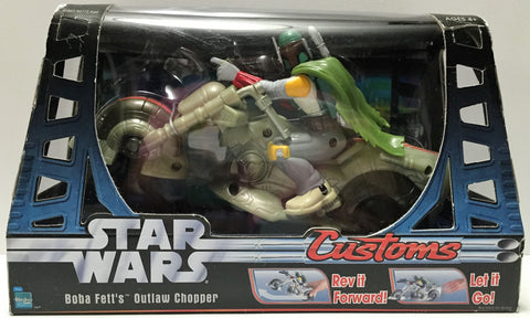 (TAS033761) - 2006 Lucasfilm Star Wars Customs - Boba Fett's Outlaw Chopper, , Action Figure, Star Wars, The Angry Spider Vintage Toys & Collectibles Store  - 1